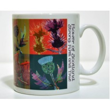 Scottish Thistles Mug MG 03