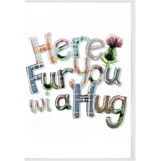 Thinking of You 'Here Fur You...' Card WWTH04