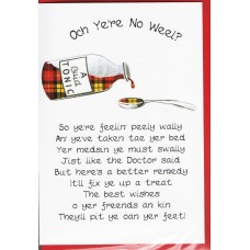 Scottish Get Well Card Medsin WWGW04