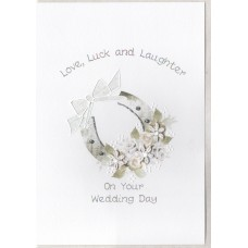 Wedding Horseshoe Card SW WE23
