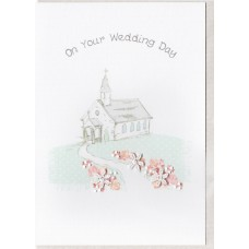 Wedding Church Card SW WE40
