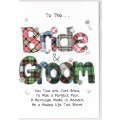 Bride and Groom Card SW WE41