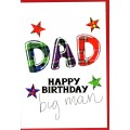 Tartan Words Card Dad WWTW02