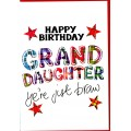 Tartan Words Card Granddaughter WWTW12