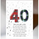Birthday Special Age 40 Card AGE40