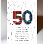 Birthday Special Age 50 Card AGE50