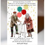 Birthday Zimmers Card BD160