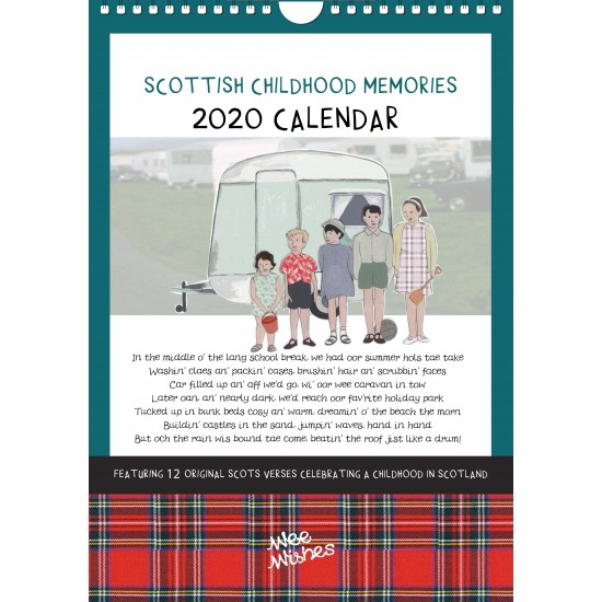 'Scottish Childhood Memories' Calendar 2020 SCMCAL2020