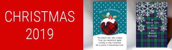 Embroidered Originals Scottish Cards | Handmade Cards Scotland