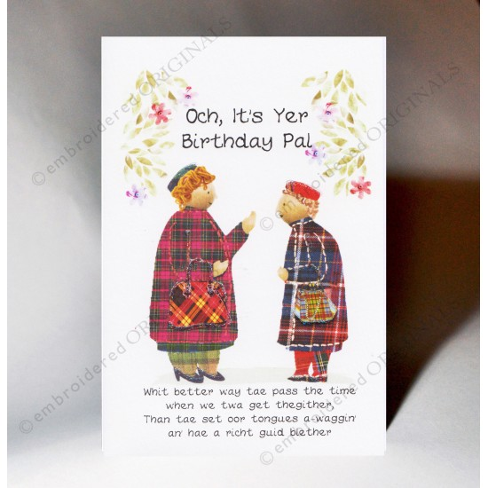 Birthday Blether Card WWBD142