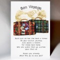 Scottish Bon Voyage Card Suitcases WWBV01