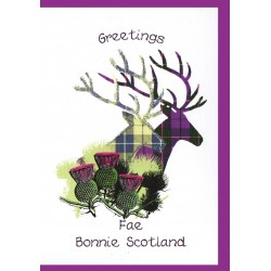 scottish greeting cards now on sale embroidered originals