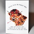 Get Well Soon Coo Card WWGW08