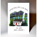 Scottish New Home Card Cottage WWNH05