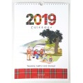 Seasons, Sights and Stories Calendar 2019