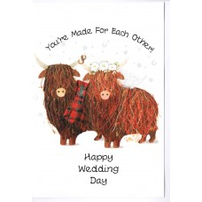 Wedding Card 'Coo You Look Nice'  WWWE78