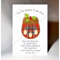 Christmas Sporran Card WWXM09