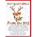 Christmas From The Dog Card WWXM101