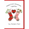 First Christmas Together Card WWXM103