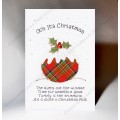Christmas Pudding Card WWXM17