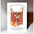 Christmas Card  Stag WWXM25