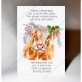 Christmas Wee Coo Card WWXM62