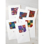 'Patchwork' Note Cards 6 pack