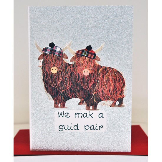Lovey Dovey A Guid Pair Card WWLD12