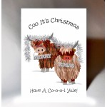 Christmas Coos Card WWXM53