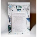 Scottish Silver Wedding  Anniversary Card Braw Couple WWWE70