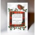Christmas Robin Guid Memories Card WWXM18