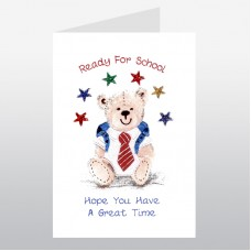 School Teddy Card WWSC02