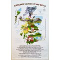 TT01 Scotland's Weather, Wit and Waffle Tea Towel